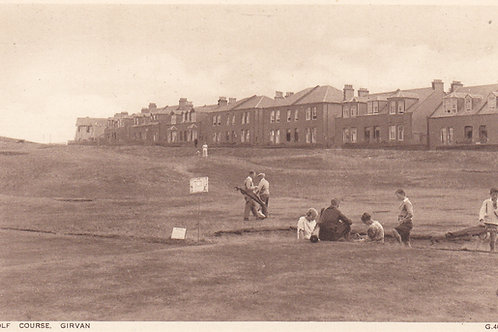 Girvan Municipal Golf Links Ref 961 C.1930s