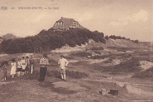 Knocke-Zoute Golf Links C.1927 Ref.392a
