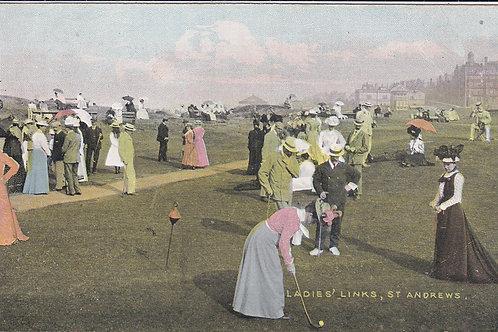 St Andrews Ladies Links Ref.694 C.Pre 1914