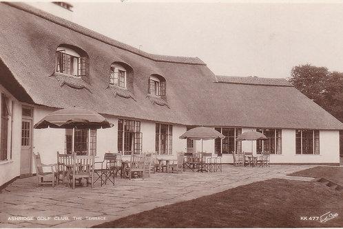 Ashridge Golf Pavilion Ref.485a C.Ea 1900s