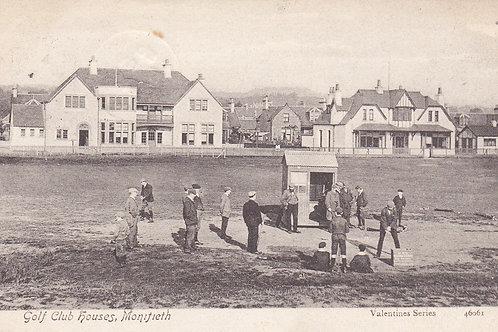 Monifieth Golf Links/1st Tee (Ref 648) C.1905