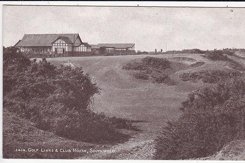 Southwold Golf Club House Ref.1522 C.1920-30
