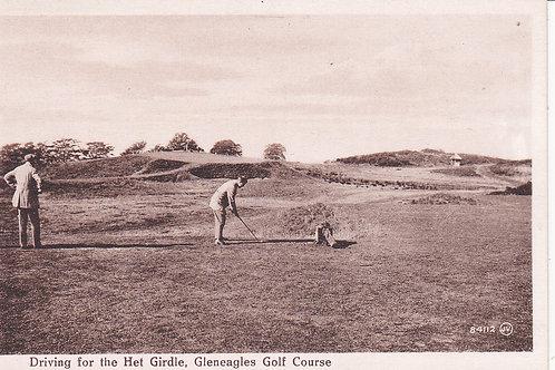 Gleneagles.Driving for Het Girdle Ref.987 C.1920s