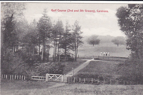 Cardross Golf Course Ref.1200 C.1915