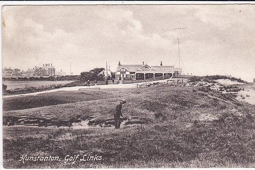 Hunstanton Original Golf Pavilion  Ref.865 C.Pre 1913
