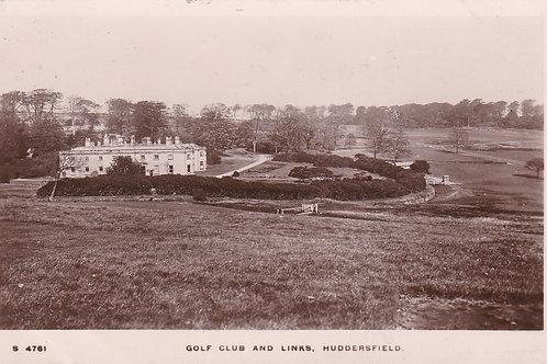 Huddersfield Golf House Ref.1984 C.Pre 1914