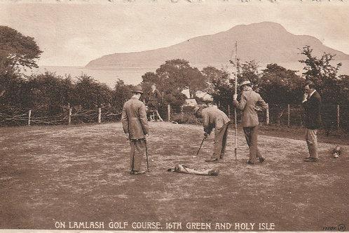 Lamlash Golf Links, Arran C.pre 1914 Ref.2633
