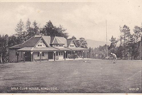 SOLD>Ref.947.Kingussie Pav, Perthshire. Ref 947 C.1920s