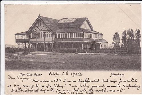 Mitcham Golf Club House C.1902 Ref.1150