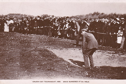 SOLD>Ref.513.James Braid. Cruden Bay Tour.Ref 513. C.1909