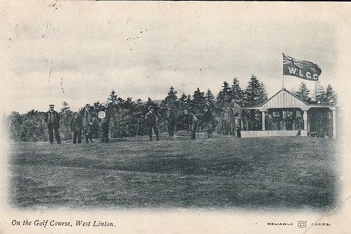 West Linton Golf Course Ref.2557 C.1905-10