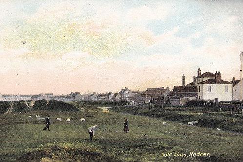Redcar Golf Links, North Yorkshire. Ref.725 C.1911