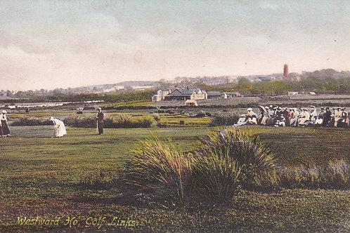 Westward Ho! Golf Links.Ref 681. C.1907-10