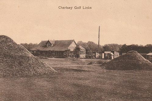 Chertsey Golf Links & Pavilion Ref.2499 C.Ea 1900s