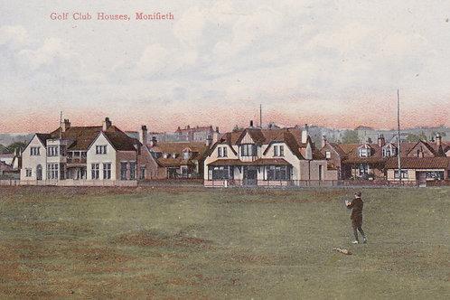Monifieth Links & Club Houses.Ref 983 C.1907