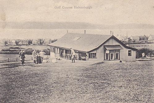 Helensburgh Golf Pavilion .Ref.938 C.1914