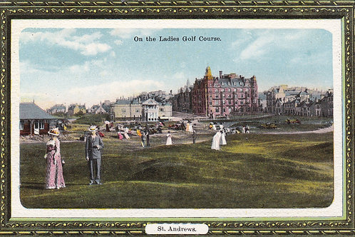St Andrews.The Ladies Golf Course C.1912 Ref.1711a