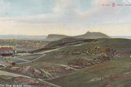 Braid Hills Golf Course Ref.1849 C.1905-10