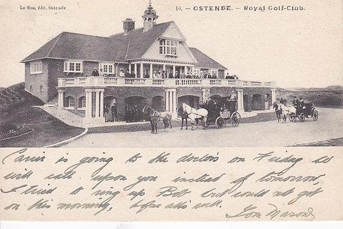 Ostende (Royal) Golf Club  Ref.1963 C.1907
