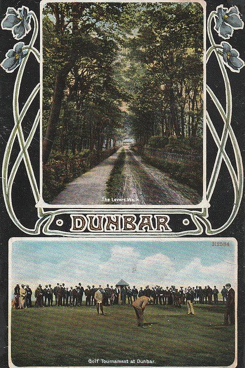 Dumbar Vardon v Braid Golf Match Ref.2503 C.Ea 1900