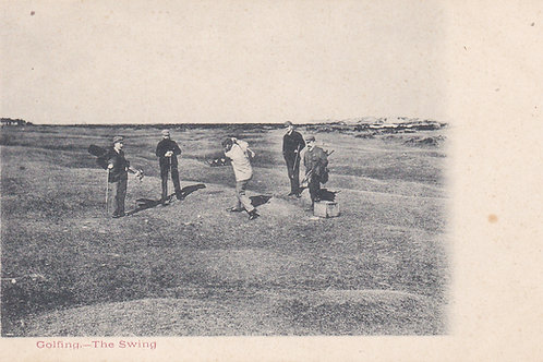 Hugh Kirkcaldy Golfing Series.Ref 161. C.1902-05