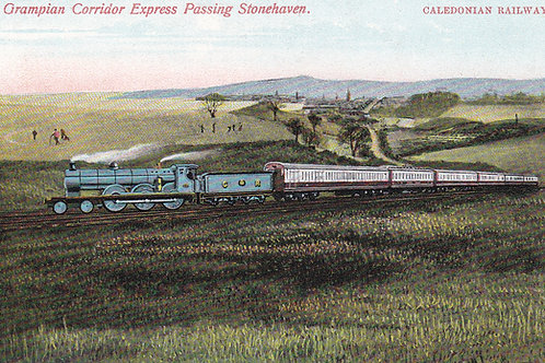 Stonehaven Golf Links & Railway.Ref 806. C.1905-10