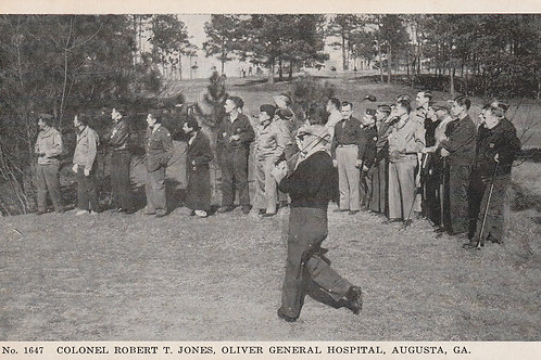 Bobby Jones at Oliver General Hospital Ref.2729 C.1940s