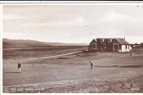 Moffat Golf Course & Pavilion C.1920s Ref.1480