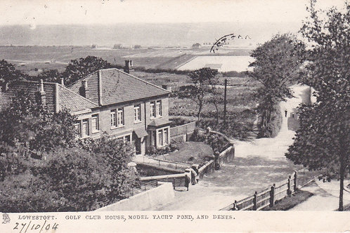 Lowestoft Golf Club House  Ref.1813a C.1904
