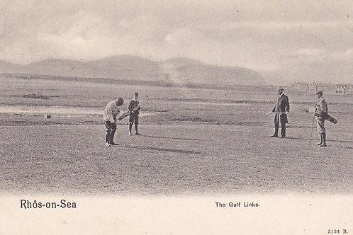 Rhos-on-Sea Golf Links,N. Wales.Ref 435. C.Pre1914