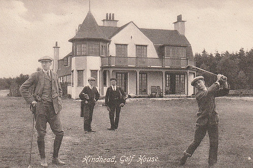 Hindhead Golf House & 1st Tee Ref.2354 C.1907