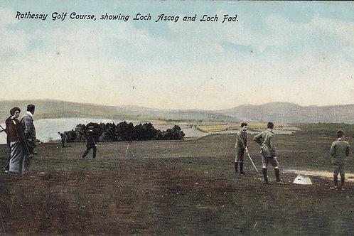 Rothsay Golf Links Ref.1665 C.Ea 1900s