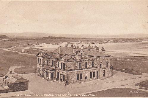 St.Andrews Club House & Links Ref 002 C.1910s