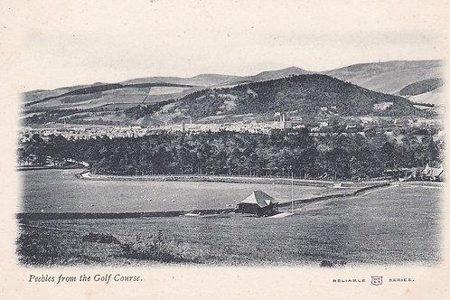 Peebles Golf Course & Town C.1905-10 Ref.2048a