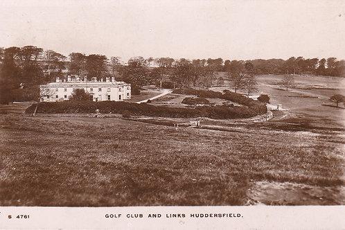 Huddersfield Links & Club House. Ref.102 C.1914