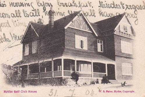 Hythe Golf Paviloin Ref.2154a C.1904