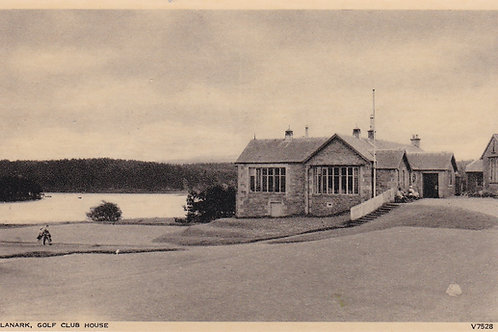 Lanark Golf Club House Ref.2163a C.Ea 1900s