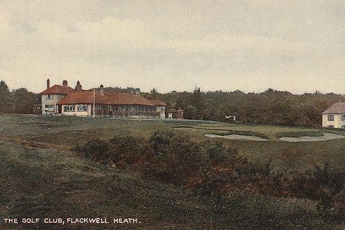 Flackwell Heath Golf Club House & 18th Green Ref.2787 C.1915-20
