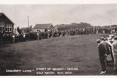 Seacroft Links,Taylor/Massy Match.Ref 705.C.1907