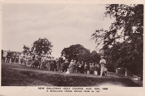 New Galloway G.C.Re-opening C.1928 Ref.1912
