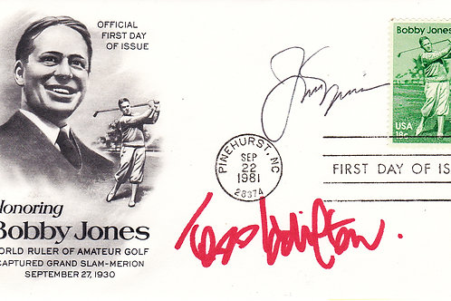 SOLD>Ref.014.Bobby Jones Comm Cover.Ref CC 14. C.1981