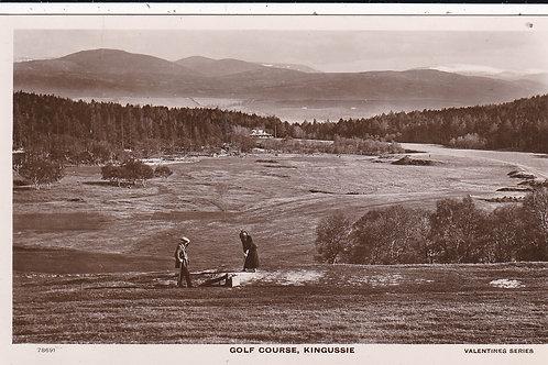Kingussie Golf Course Ref.1471 C.1910-18