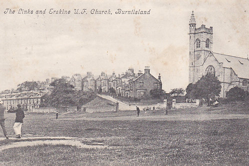 Burntisland Golf Links/Ersk Church Ref 940 C.1904
