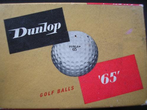 """Dunlop """"65"""" 1.62 Balls Ref.079"""