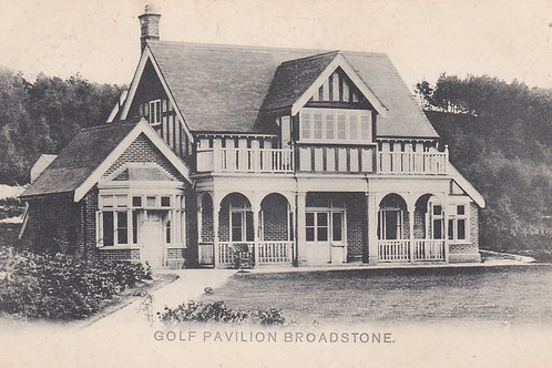 Broadstone Golf Pavilion Ref 252 C.Early 1900s