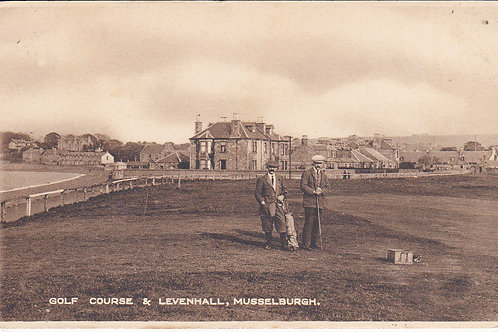 Old Musselburgh Golf Course Ref.1184 C.1918