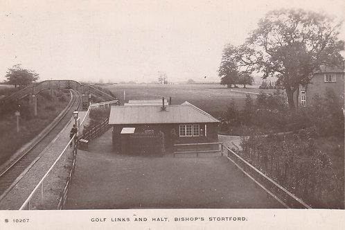 Bishop's Stortford Links & Railway Halt Ref.2534 C.1910-15