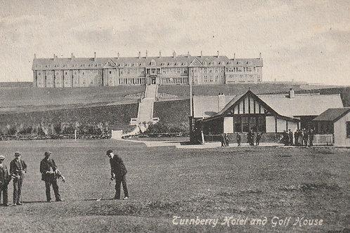 Turnberry Golf Pavilion  & Hotel C.pre 1910 Ref.2621