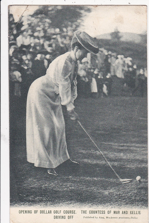 Dollar Golf Course,(Opening Of)  C.1890 Ref 1421
