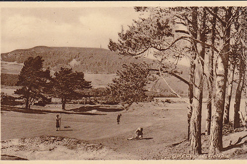 Golspie Golf Links Ref.1110 C.1955
